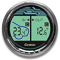 Carlinea 485004 termómetro Interior Exterior Coche
