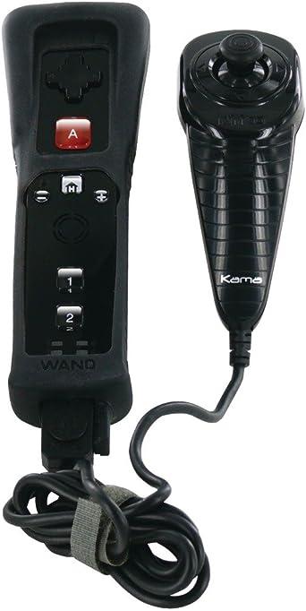 Nyko Core Pak - Volante/mando (Mando de juegos, Wii, Home, Con y sin cables, Bluetooth, 1.2 m) Black: Amazon.es: Videojuegos