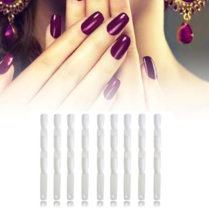 Gowind6-50 uñas postizas para manicura, color de la tabla: Amazon.es: Belleza