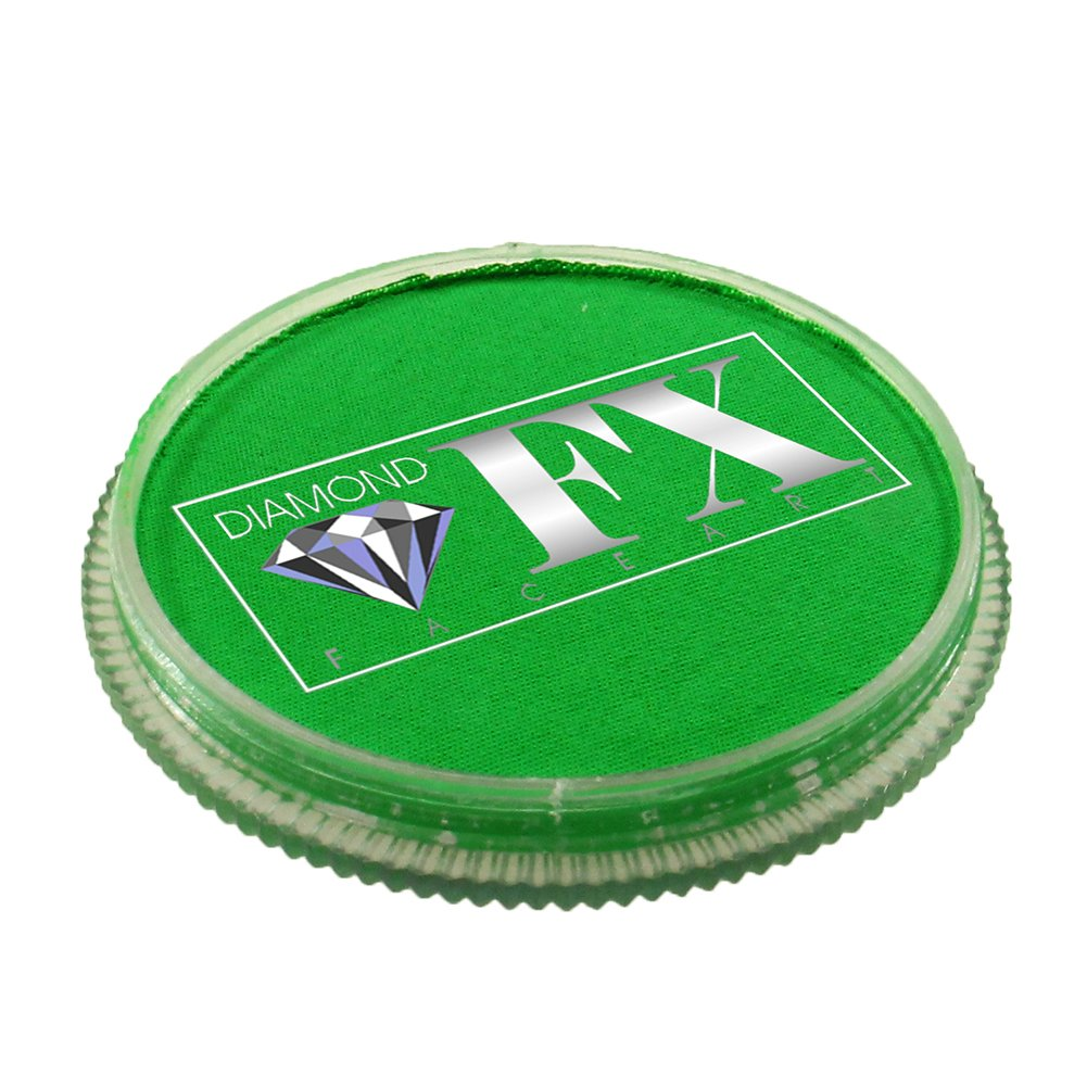 30 gm Diamond FX Neon Face Paint - Green 160