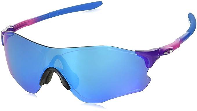 5fbec1aea7 Oakley Men s Evzero Path (a) Non-Polarized Iridium Rectangular Sunglasses