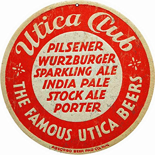 - Victory Vintage Signs Reproduction Utica Club Pilsener Beer Sign