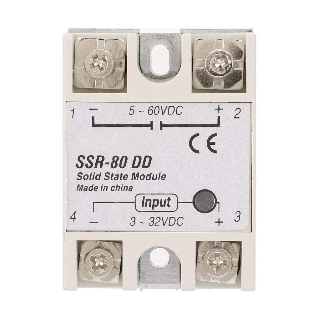 BRM-80DD Solid State Relay 3-32V BRM-60DD 80DD 100DD DC Control Communication SSR Solid State Relay Module