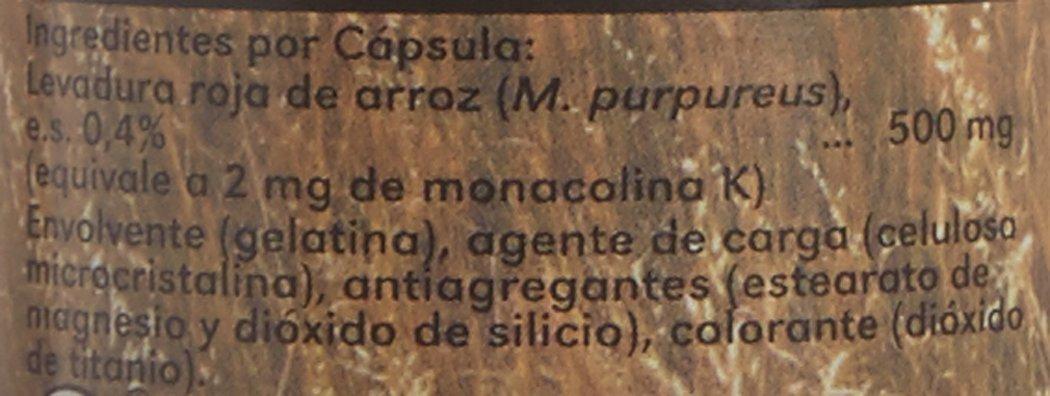 GREEN SUN - Levadura Roja De Arroz 45Cap: Amazon.es: Salud y cuidado personal