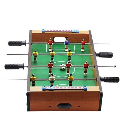 Festnight Tabletop Foosball Mini Wooden Kids Childrens Table Soccer Game Machine Table Soccer Toys