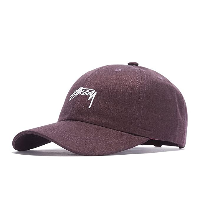 Gorra Stussy - Suiting Low Pro granate/blanco talla: Ajustable ...