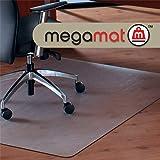 Cleartex MegaMat, Heavy Duty Chair Mat, for Hard