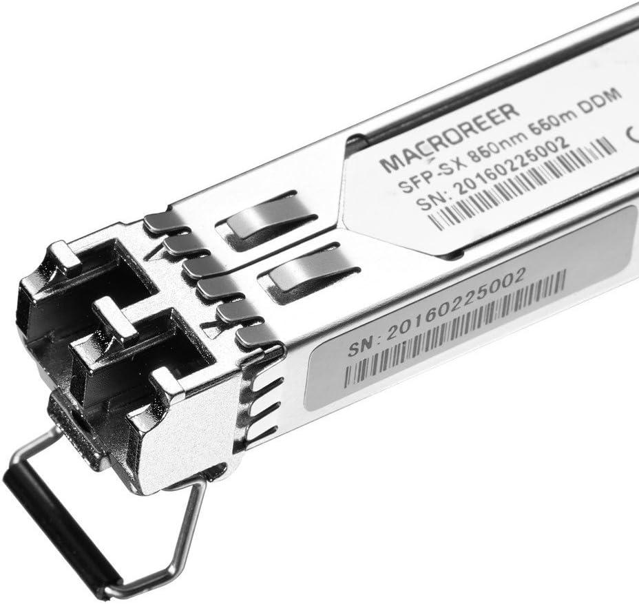 850nm Multi-Mode Mini-GBIC 550-meter Macroreer for Ubiquiti Gigabit SFP Module 1000BASE-SX