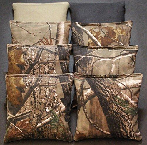CORNHOLE BEAN BAGS REALTREE Camo Camoflauge 8 ACA Real Tree Hunting Fishing Bags