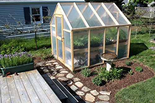 Sunview Greenhouse Clear Plastic Film Polyethylene Cover 4 Year 6 Mil 12ft X 25ft by Sunview (Image #2)