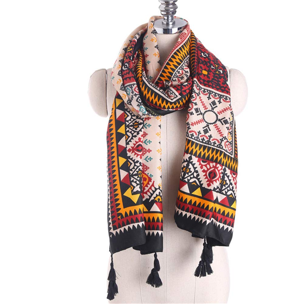 Spring and Autumn New National Wind Scarf Scarf Women's Summer Sunscreen Shawl