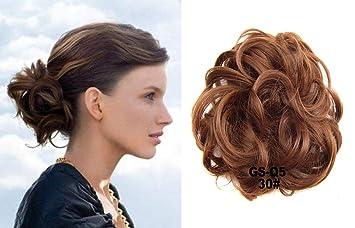 HI GIRL 30g Short Hair Bun Synthetic Hair