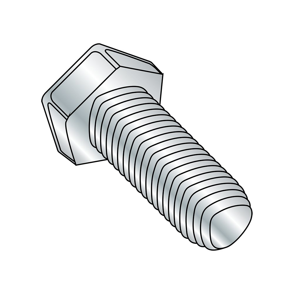 1//4-20 Thread Size 5//8 Length Pack of 50 Small Parts 1410RH 5//8 Length Pack of 50 1//4-20 Thread Size Hex Head Steel Thread Rolling Screw for Metal Zinc Plated