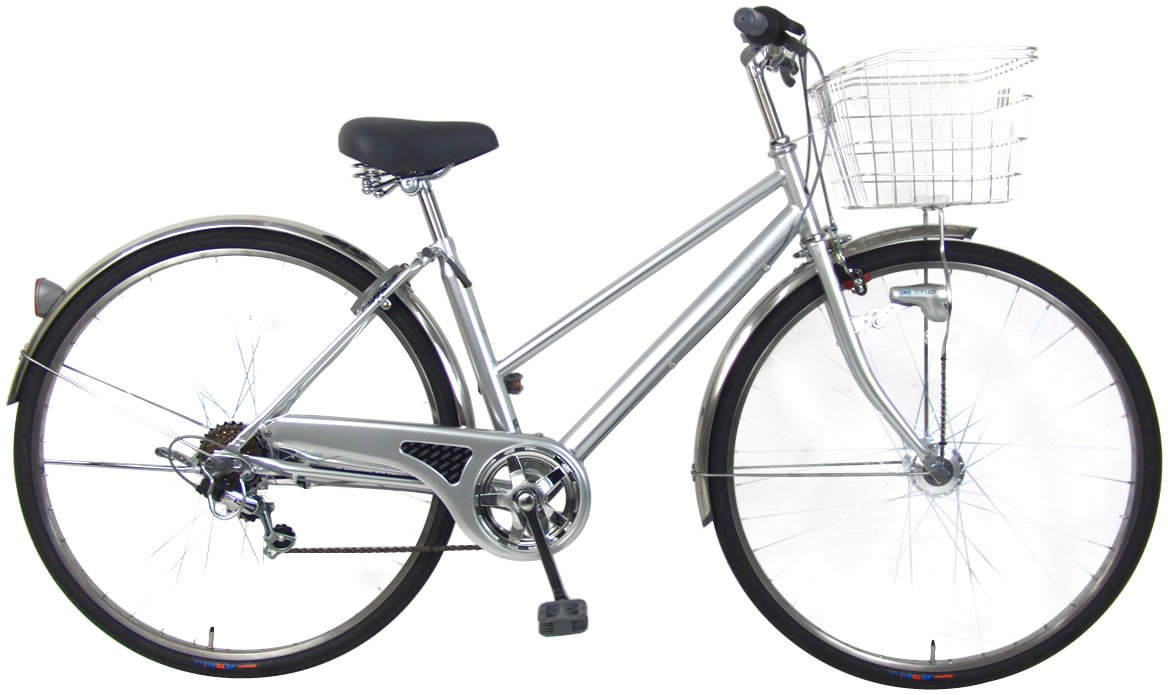 C.Dream(シードリーム) ココスペシャル CC76-SP 27インチ自転車 シティサイクル シルバー 6段変速 100%組立済み発送 B016UQZLA6