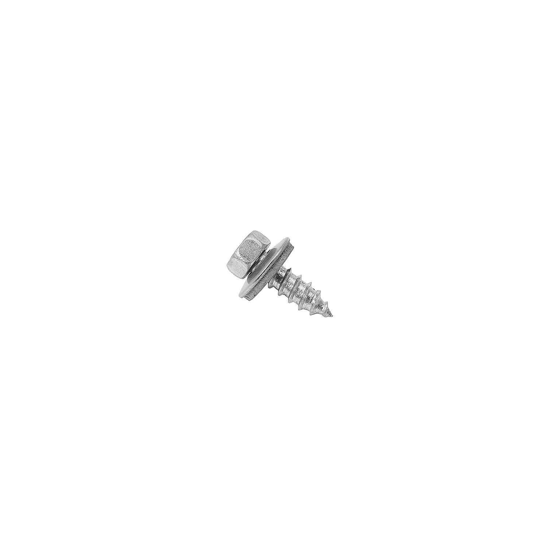 9057 A2 A f/ür Sandwichelemente 100 x Fassadenbauschrauben Edelstahl 6,5 x 45 mm V2A Fassadenschrauben mit Spitze Schrauben Art - Dichtscheibe 16 mm Trapezblech Werkstoff A2
