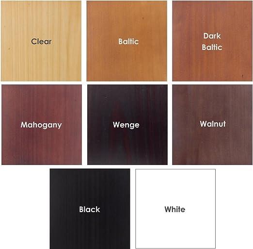 Amazon.com: Perchero de madera – 4 Clavijas – Soporte de ...