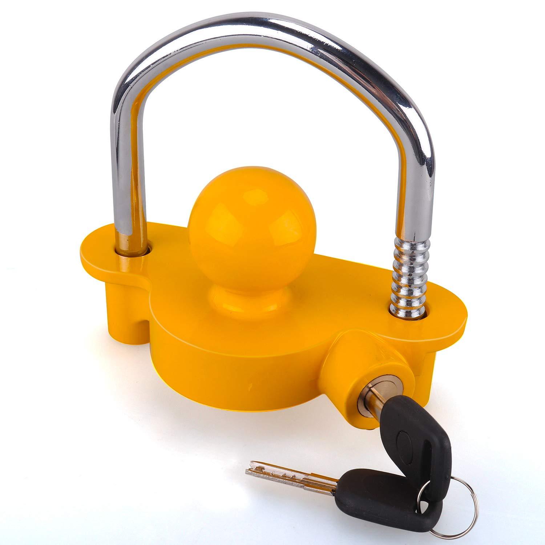Anh/ängerkugelsperrkupplung Abschleppsperre einstellbar Einfache Installation Hochleistungs-Stahl und Aluminiumlegierungssockel f/ür das Abschleppen von Wohnwagenanh/ängern