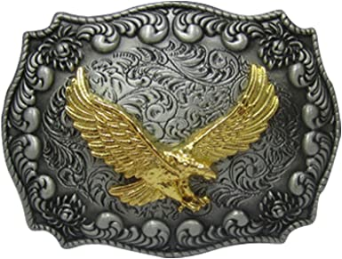 SMALL FLYING EAGLE WESTERN STYLE BELT BUCKLE CHILDRENS NEW!