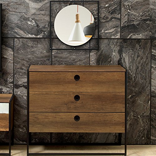 Adam and Illy VIR1871 Virtus Chest of Drawers, Baroque/Black -