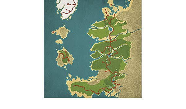 Amazon.com: Fable, Albion Map Art, 24
