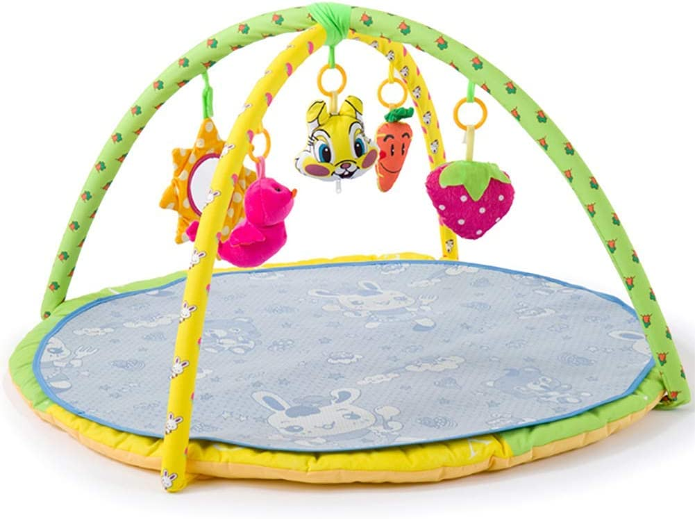 Large Baby Play Gym Kick and Play Piano Infant Activity Mat for Babies 5 Baby Activity Gym Toys