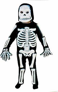 Christy`s 996242 - Disfraz de esqueleto para niño (3 años): Amazon ...