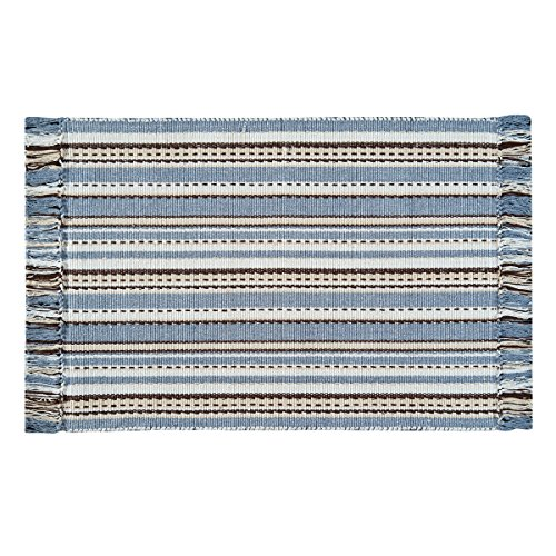 Serenity Small Rug (C&F Home Serenity Woven Area Rug, Small/2' x 3' , Blue)