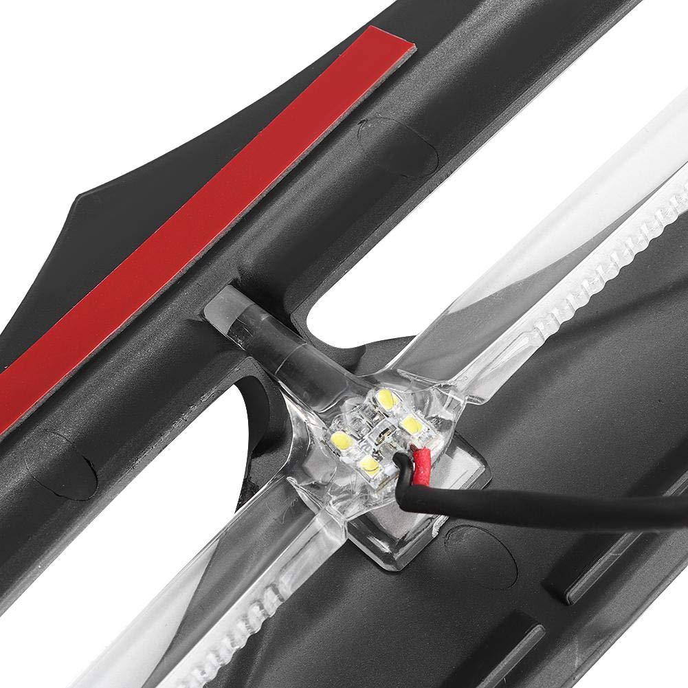 LED-beleuchtete Lufteinlassblende ABS-Kunststoff-Fronteinlassblende f/ür Electra 2014-2017