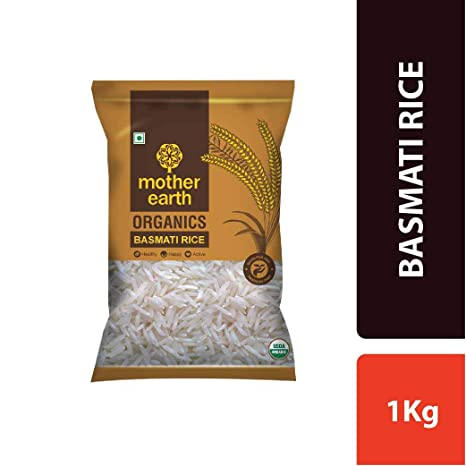 MOTHER EARTH BASMATI Rice 1KG