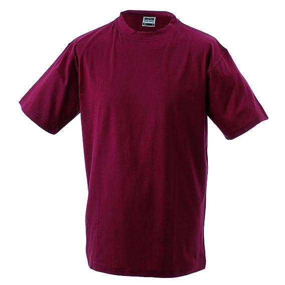 JAMES & NICHOLSON Kinder Komfort-T-Shirt aus hochwertigem Single-Jersey:  Amazon.de: Bekleidung