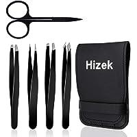 Hizek - Juego de 5 pinzas para cejas