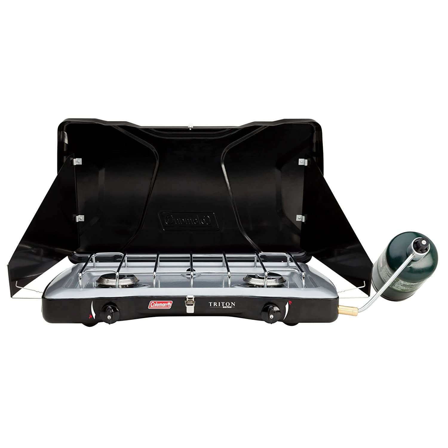 Amazon.com : Coleman Triton Series 2-Burner Stove : Camping Stoves ...