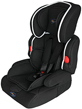0b21357ad751 Bebe Style Deluxe Group 1 2 3 Childs Car and Booster Seat (Jet Black ...