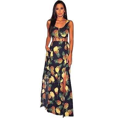Vestidos de Talla Grande para Mujer Falda Larga con Falda Larga ...