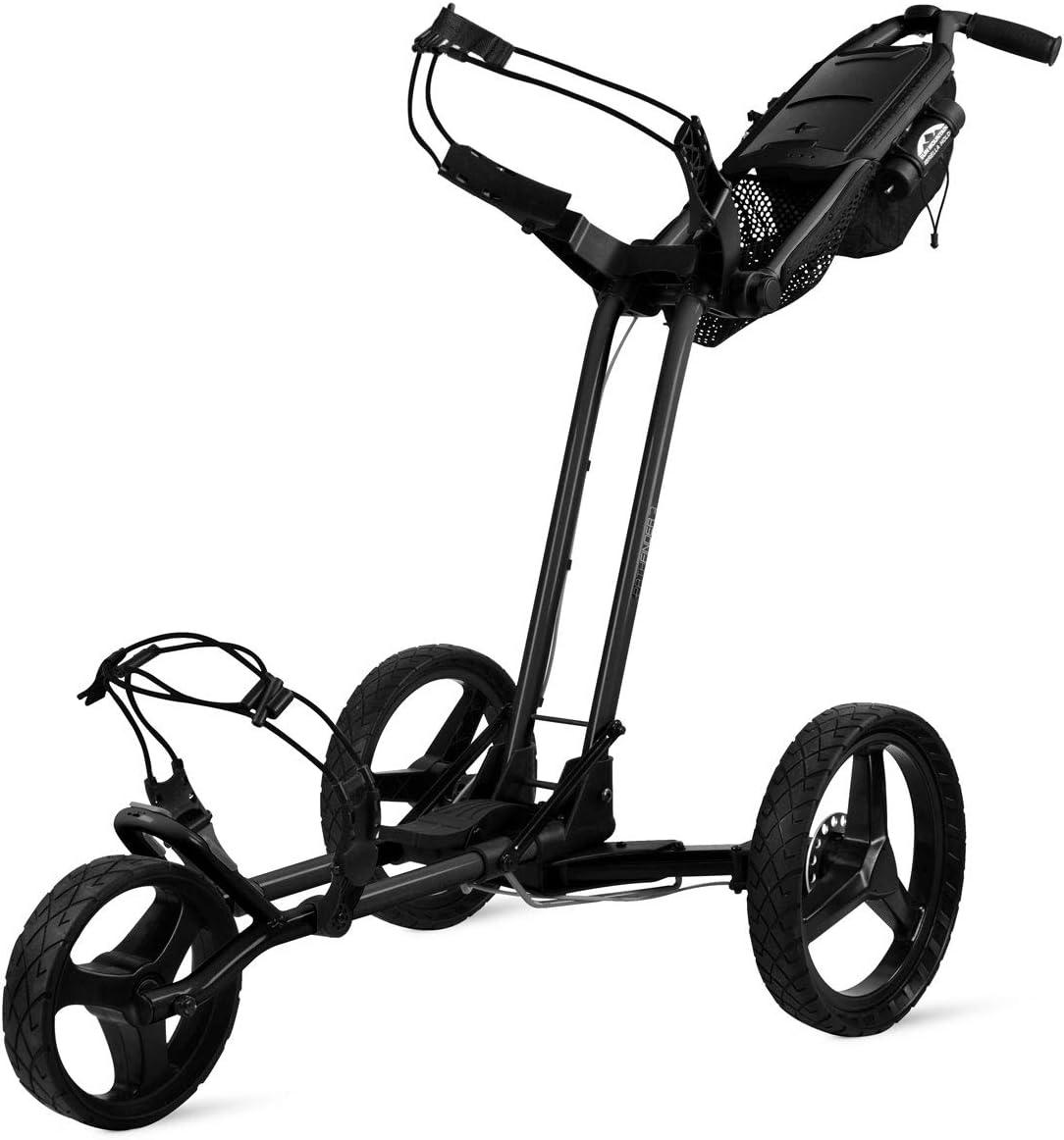 Sun Mountain Golf 2019 Pathfinder 3 Push Cart BLACK (Black, )