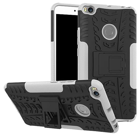 timeless design adebb 9aba8 Xiaomi Mi Max 2 Case, SsHhUu Tough Heavy Duty Shock Proof Defender Cover  Dual Layer Armor Combo Protective Hard Case Cover for Xiaomi Mi Max 2  (6.44