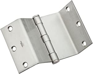 National Hardware N236-021 DPBF248 Swing Clear Hinge in Satin Chrome,3-1/2 Inch