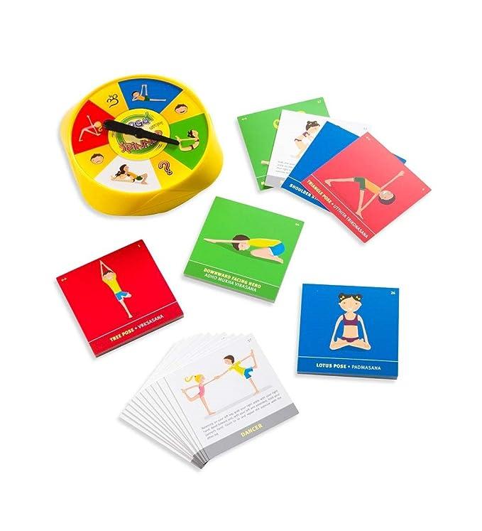 Amazon.com: Yoga Spinner Junta Juego: Toys & Games