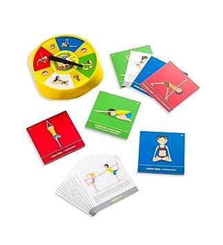 Amazon yoga spinner board game toys games yoga spinner board game solutioingenieria Gallery