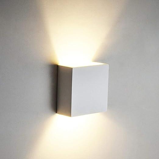 6W LED Lampada da Parete Applique da Parete in Alluminio a Stile ...