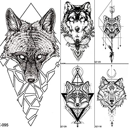 yyyDL tatuajes temporales Mujeres Body Art Tattoo Pegatinas ...