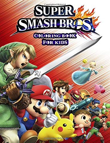 Super Smash Bros Coloring Book For Kids Fun Coloring Pages