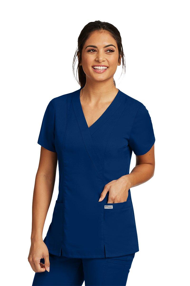 Grey's Anatomy Womens Scrubs, Indigo, X Large by Barco