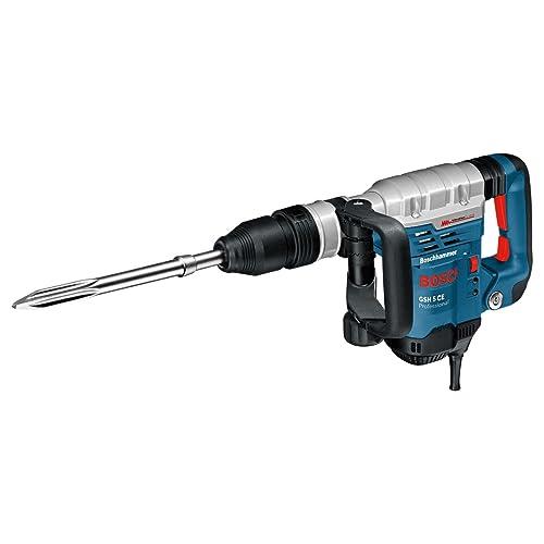 Bosch Professional 0611321000 GSH 5 CE Marteau piqueur SDS max 1150 W Bleu