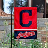 WinCraft Cleveland Indians Double Sided Garden Flag