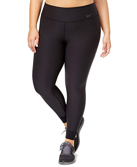 3f7266ddad4e9 Amazon.com: Nike Womens Plus Size Power Legend Dri-Fit Tights Leggings Deep  Black: Clothing