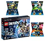 Lego Dimensions Magical Starter Pack + Harry Potter Team Pack + Fantastic Beasts Tina Goldstein Fun Pack + The Wizard Of Oz Fun Pack for Playstation 3 PS3 Console