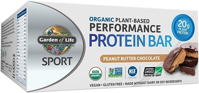 Garden of Life Vegan Organic Sport Protein Bars