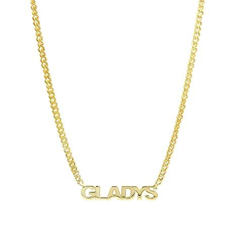 collier prenom gladys