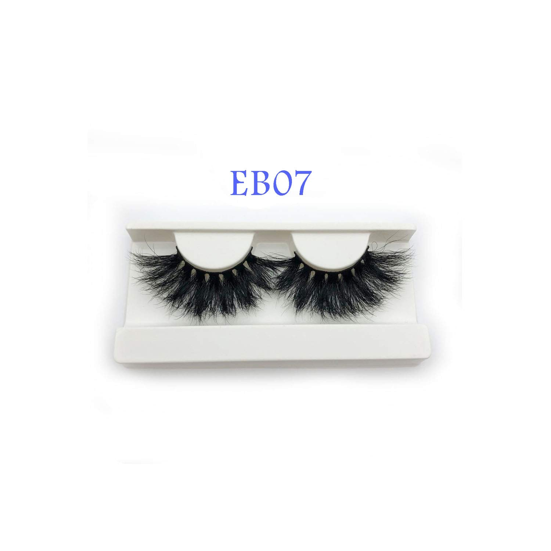 cf4fbfcad9e Amazon.com : Nice warm 3D Mink Lashes 25Mm Extra Long Mink Strip Fur  Handmade Eyelashes Wholesale Price, E02 : Beauty